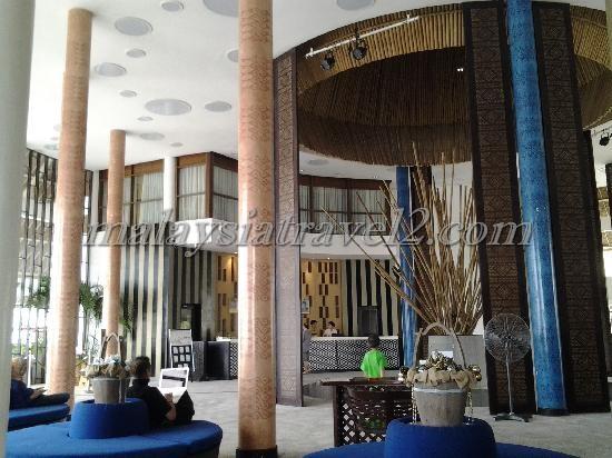 الاستقبال و اللوبي في فندق جولدن بالم تري ماليزيا7