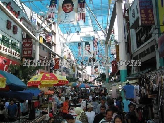 السوق الصيني في كوالالمبور2