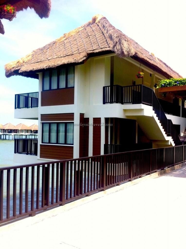 الغرف في فندق جولدن بالم تري ماليزيا10