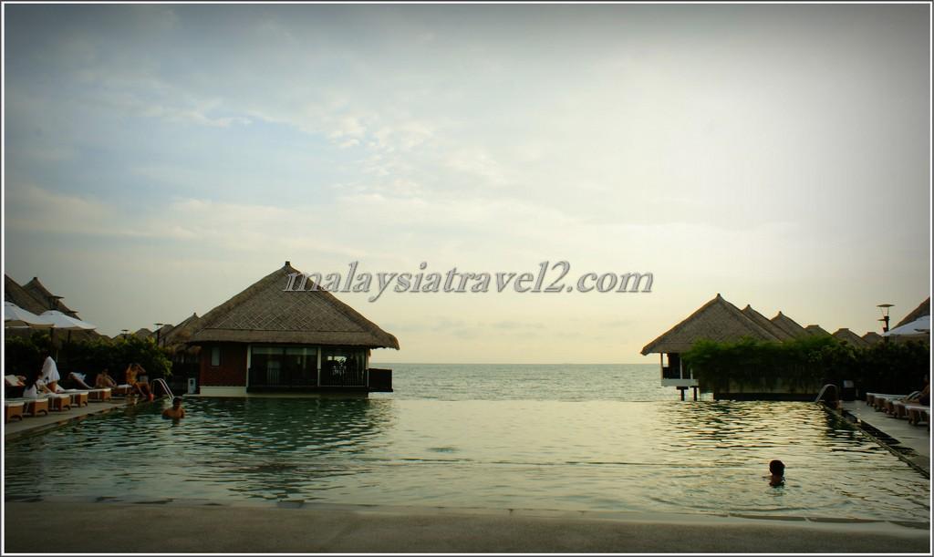 المسبح في فندق جولدن بالم تري ماليزيا3