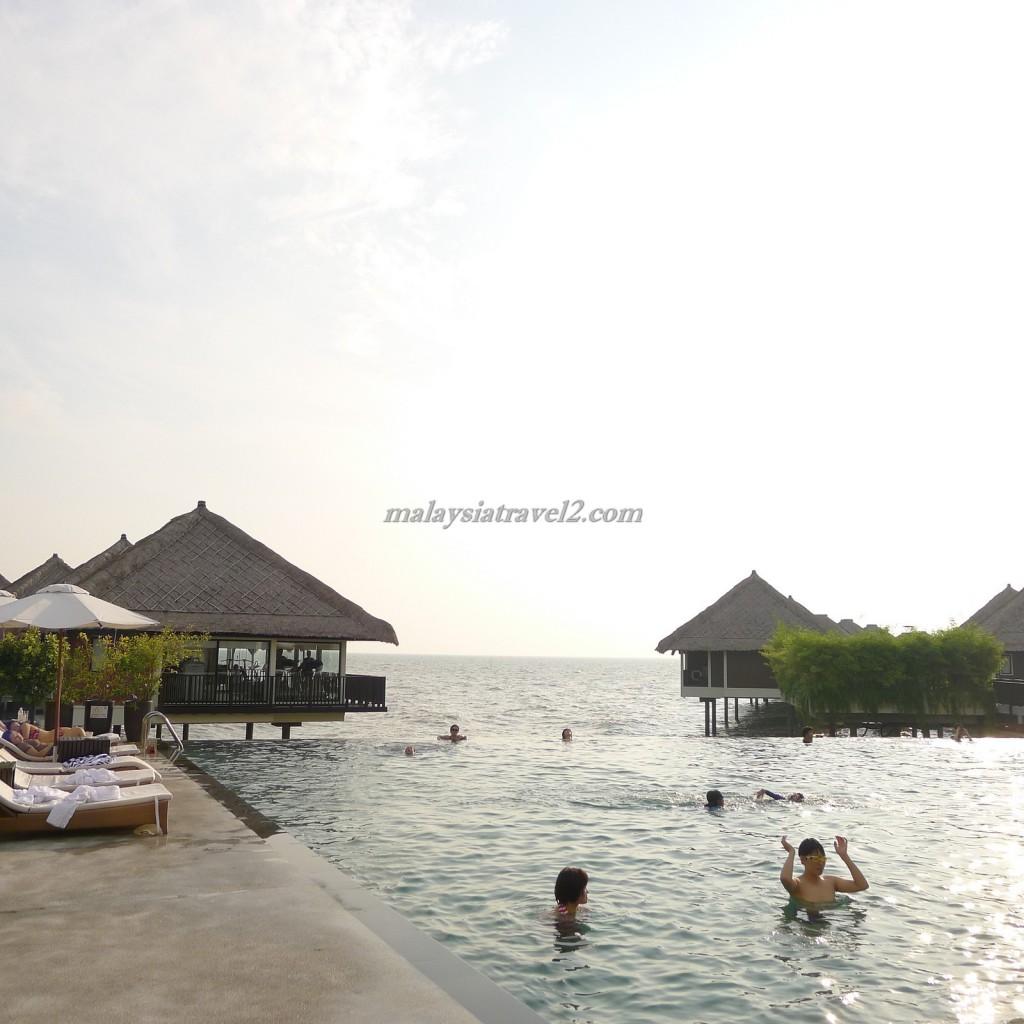 المسبح في فندق جولدن بالم تري ماليزيا6