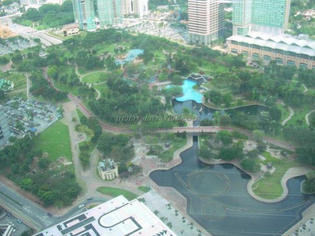 حديقة البرجين التوأم2