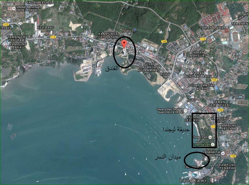 خريطة فندق ايديا