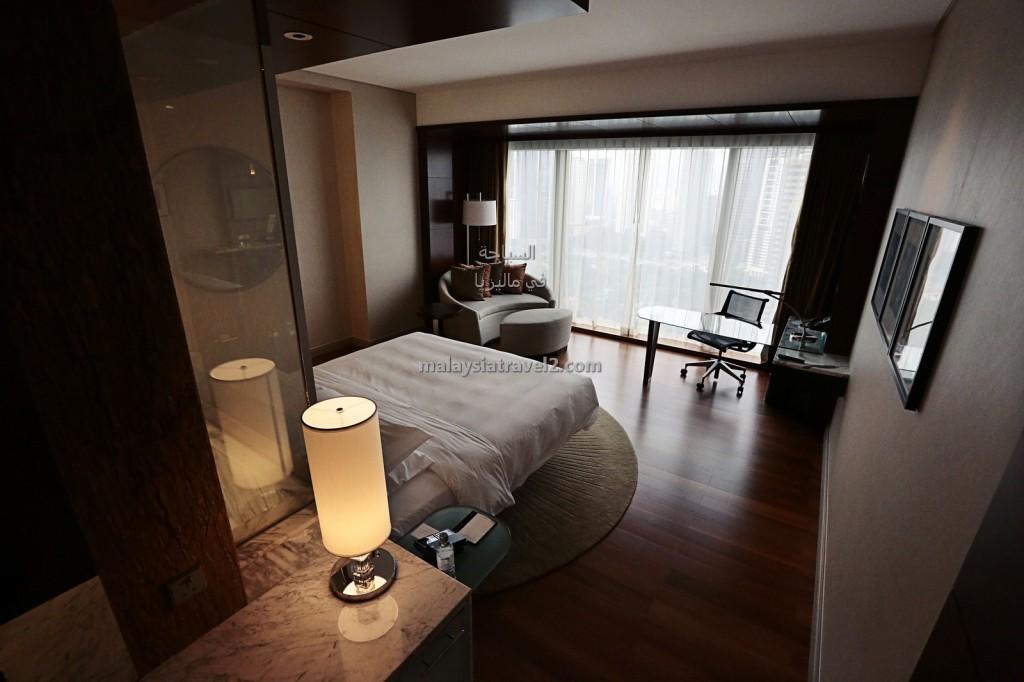 غرف النوم في فندق جراند حياة كوالالمبور