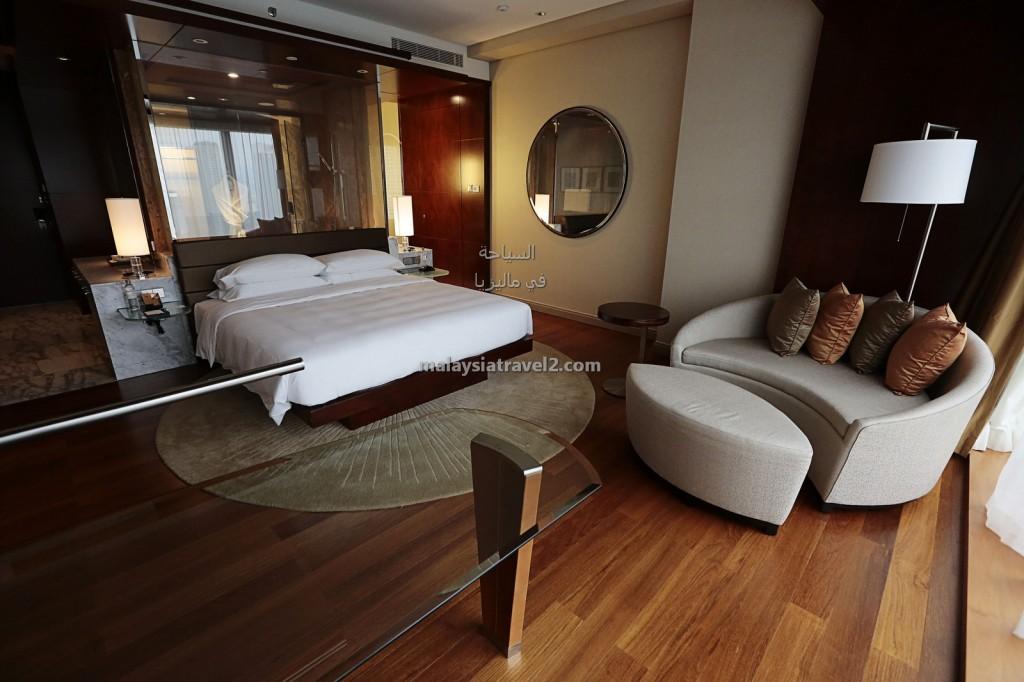 غرف النوم في فندق جراند حياة كوالالمبور1