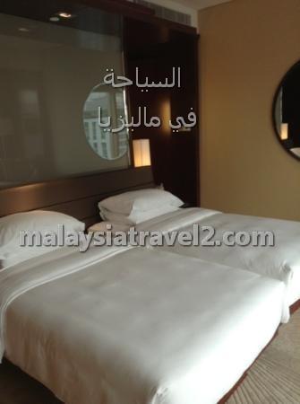 غرف النوم في فندق جراند حياة كوالالمبور4