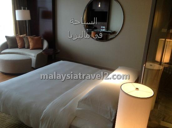 غرف النوم في فندق جراند حياة كوالالمبور8