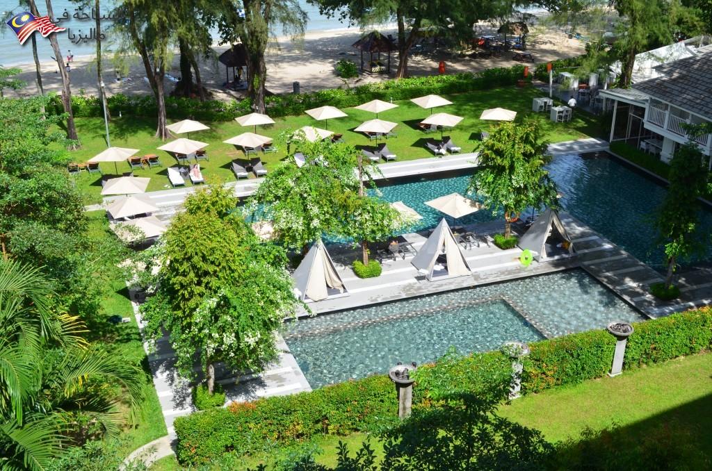 مسبح فندق لون باين