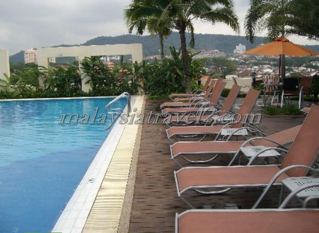 مسبح فندق ون وورلد في سيلانجور3