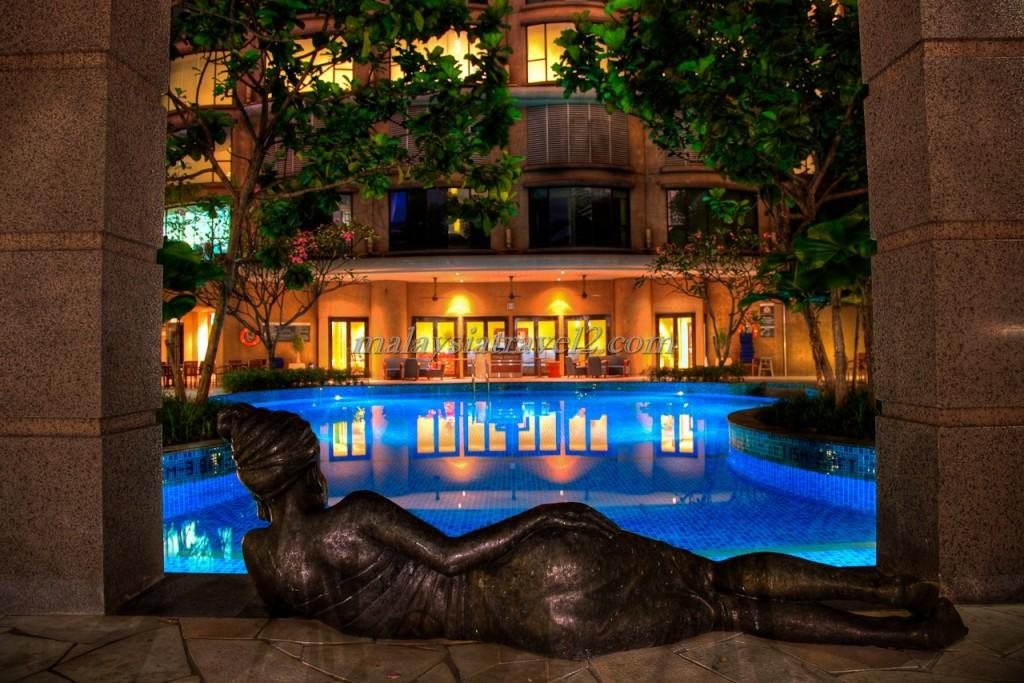 مسبح فندق ويستن كوالالمبور11