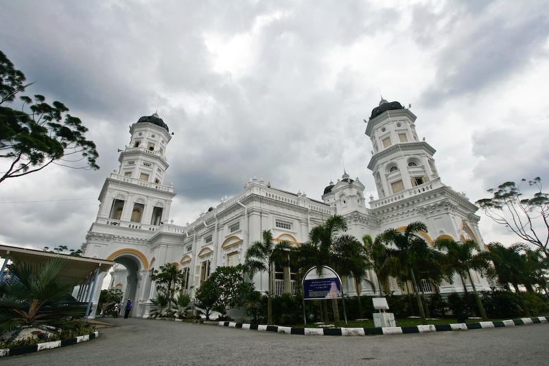 مسجد السلطان ابو بكر في ولاية جوهور في ماليزيا(1)
