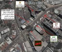 خريطة شارع العرب