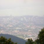 جزيره بينانج من اعلى قمة في هضبة بينانج