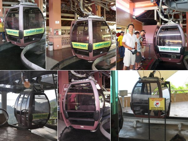langkawi cable car صور و تقرير تلفريك لنكاوي