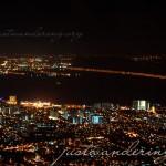 صورة ليلية في هضبة بينانج