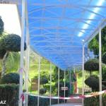 مدخل الحديقة في حديقة الفواكة في لنكاوي