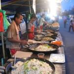 السوق الليلي في كواه لنكاوي