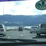 صورة للسيارات على جسر بينانج