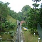 مسار القطار في هضبة بينانج