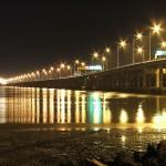 صورة ليلية من جسر بينانج