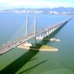 صورة علوية لجسر بينانج