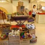 محل بيع التوابل في حديقة التوابل في بينانج