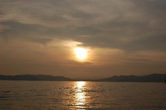 الغروب في رحلة الغروب في لنكاوي