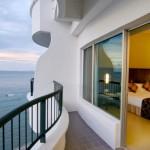 بلكونة الغرفة في فندق فلامينقو في بينانج
