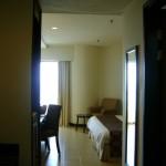 مدخل الغرفة في فندق فلامينقو في بينانج