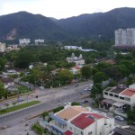 صورة للشارع الخلفي الرئيسي لفندق فلامينقو في بينانج