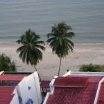 صورة من البلكونه فندق فلامينقو في بينانج