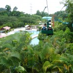 الالعاب المائية في جزيرة الغوريلا في بينانج