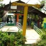 مدخل التلفريك الصغير في جزيرة الغوريلا في بينانج