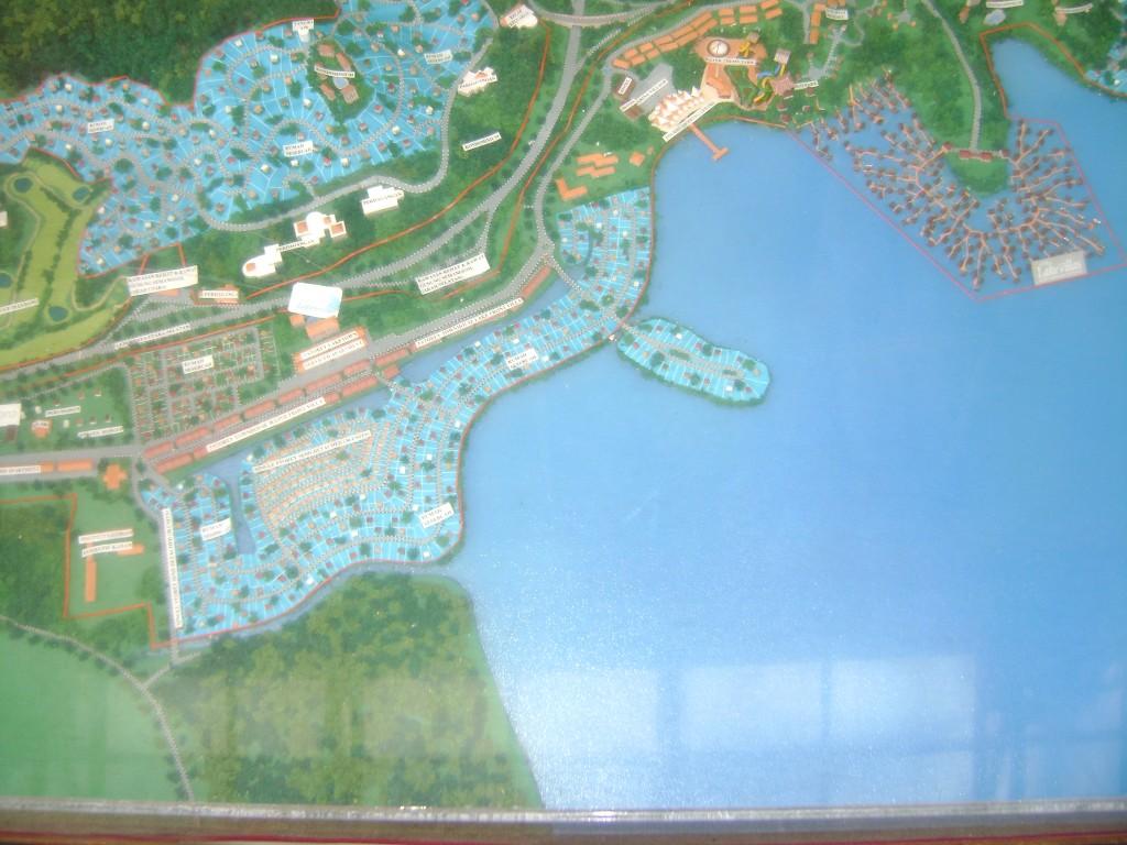 خريطة المنتزة في الغوريلا في بينانج