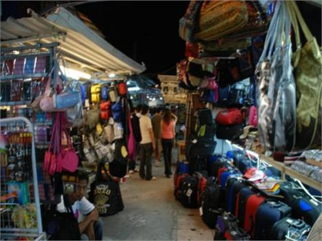 السوق الليلي في بينانج
