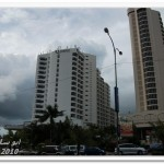 صورة من الشارع الرئيسي للفندق في فندق فلامينقو في بينانج