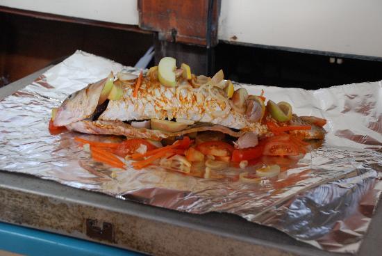 سمك مشوي في رحلة الغروب