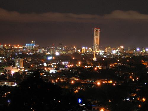 المساء في بينانج