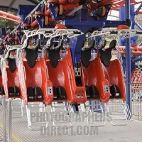 flying coaster جنتنق هايلاند