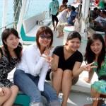 مجموعة من القروب في رحلة الغروب في لنكاوي