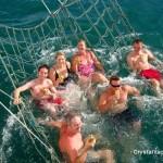 السباحة في رحلة الغروب في لنكاوي