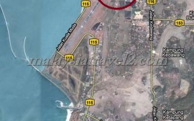 خريطة فندق كاسا ديل مار لنكاوي