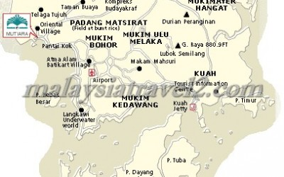 map Mutiara Burau Bay Resort Langkawi فندق موتيارا بوراو باي لنكاوي