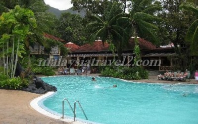 swimmingpool Mutiara Burau Bay Resort Langkawi فندق موتيارا بوراو باي لنكاوي