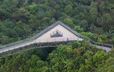 صور و تقرير الجسر الفضي المعلق- لنكاوي