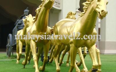 فندق الخيول الذهبية فى سيلانجور The Palace Of The Golden Hors26