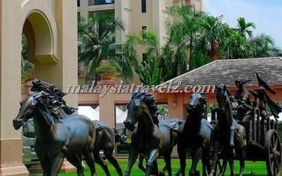 فندق الخيول الذهبية فى سيلانجور The Palace Of The Golden Hors33