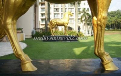 فندق الخيول الذهبية فى سيلانجور The Palace Of The Golden Hors44