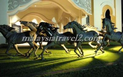 فندق الخيول الذهبية فى سيلانجور The Palace Of The Golden Hors50