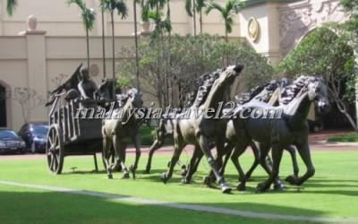 فندق الخيول الذهبية فى سيلانجور The Palace Of The Golden Hors54